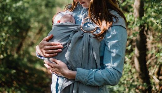 新生児期のさけられない外出!新生児期から使える抱っこ紐の選び方
