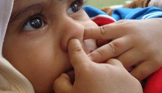 赤ちゃんの鼻詰まりや鼻水をどうしたらいい?家庭でできる赤ちゃんの鼻水、鼻詰まり解消法!